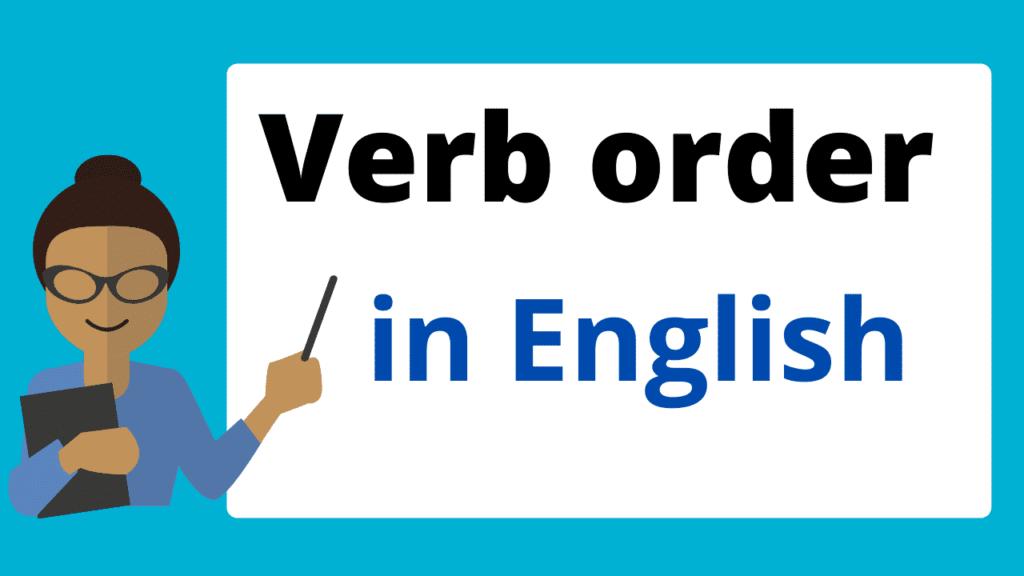 English verb order